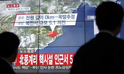 Hàn Quốc phát hiện khí xenon sau vụ thử hạt nhân Triều Tiên