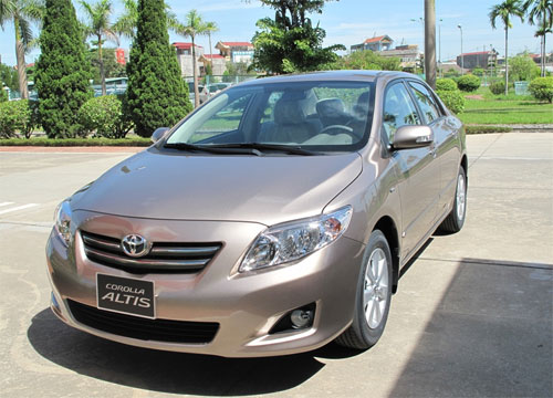 toyota corolla 1 3884 1452485185 Corolla chiếm lượng xe lớn nhất trong diện triệu hồi của hãng xe Nhật tại Việt Nam