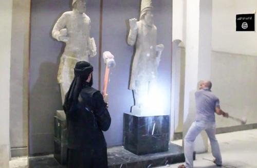 Lỗ hổng khiến IS tuồn cổ vật ra khắp thế giới 1