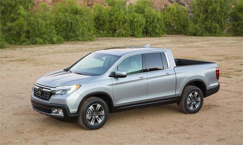 Ridgeline 2017 - bán tải mới của Honda 1