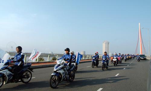 Dàn xe côn tay Yamaha hội tụ tại Đà Nẵng 1