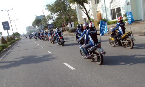 Dàn xe côn tay Yamaha hội tụ tại Đà Nẵng 2