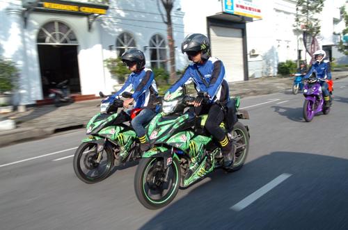 Dàn xe côn tay Yamaha hội tụ tại Đà Nẵng 3