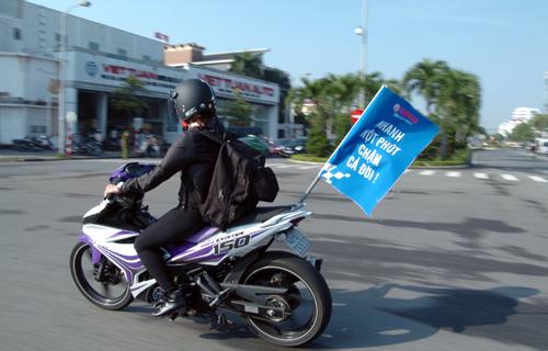 Dàn xe côn tay Yamaha hội tụ tại Đà Nẵng 4