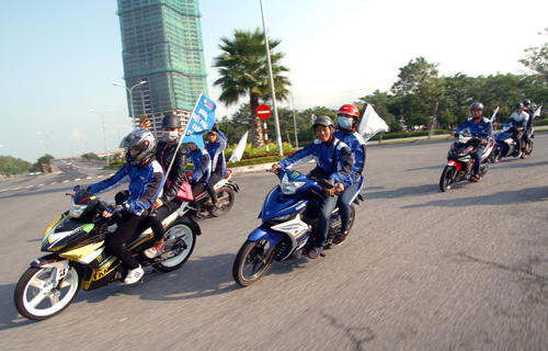 Dàn xe côn tay Yamaha hội tụ tại Đà Nẵng 5