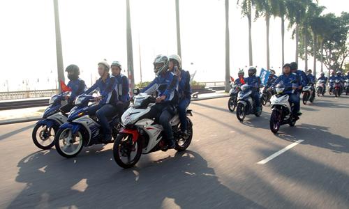 Dàn xe côn tay Yamaha hội tụ tại Đà Nẵng 6