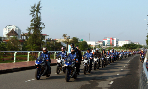 Dàn xe côn tay Yamaha hội tụ tại Đà Nẵng 7