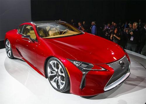 Lexus LC 500 - coupe 100.000 USD thách thức S-class coupe 1