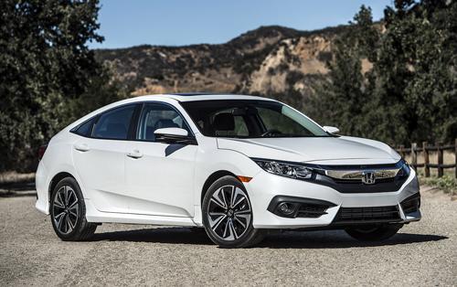 Honda Civic - xe của năm tại Bắc Mỹ 1