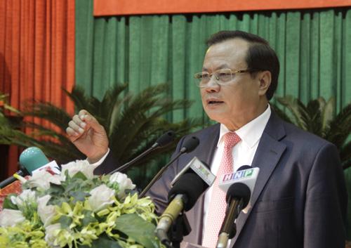 Bí thư Hà Nội Phạm Quang Nghị.