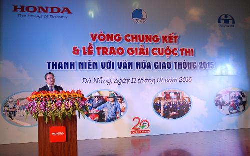 Honda tổng kết chương trình an toàn giao thông 2015 1