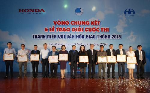 Honda tổng kết chương trình an toàn giao thông 2015 2