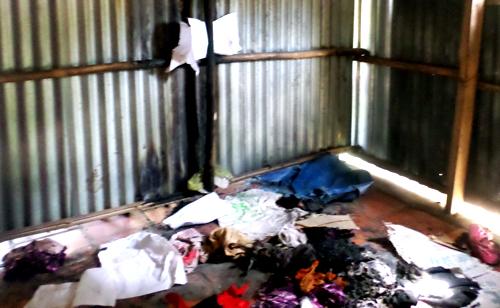 Điều tra hiện tượng đồ đạc trong nhà cụ bà bốc cháy 2