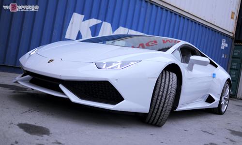 Lamborghini Huracan màu độc nhất về Việt Nam 1