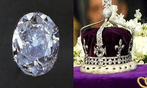 Cuộc tranh đoạt viên kim cương trên vương miện Nữ hoàng Anh