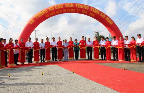 Thông xe tuyến đường Hồ Chí Minh đến Đất Mũi Cà Mau 1