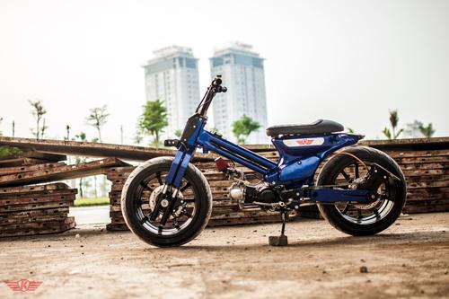 Honda Cub độ gắp đơn của thợ Hà Nội 1