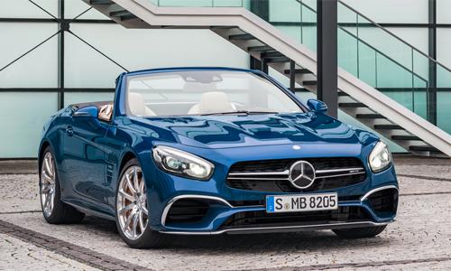 Mercedes SL-class 2017 giá từ 108.000 USD tại Đức.