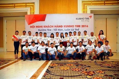 Hội nghị đại lý lốp ôtô Kumho Tire 2016 2