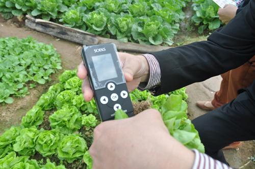 Công nghệ mới phát hiện độc tố trong thực phẩm
