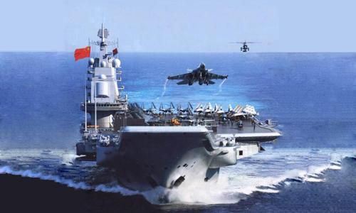 Mỹ lo Trung Quốc dùng tàu sân bay độc chiếm Biển Đông 1