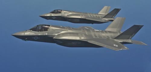 """Hệ thống tác chiến biến tiêm kích F-35 thành """"chiến binh sống"""" 1"""