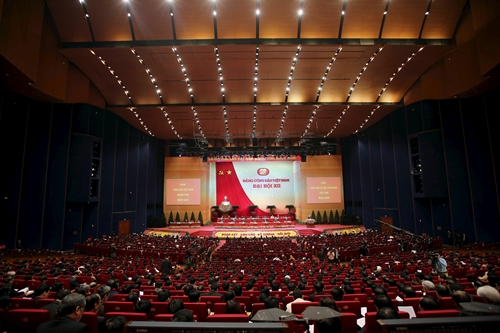 General view of delegations attending the Opening ceremony of The 12th National Congress of Vietnam's Communist Party (VCP), in Hanoi, Vietnam 21 January 2016. REUTERS/Minh Hoang/Pool