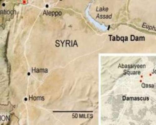 Đập lớn nhất Syria - điểm tựa quyền lực của IS 2