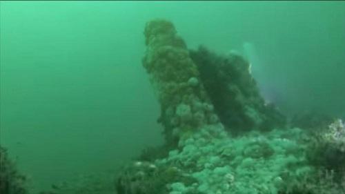 Phát hiện xác tàu ngầm Đức ngoài khơi bờ biển Anh - ảnh 1