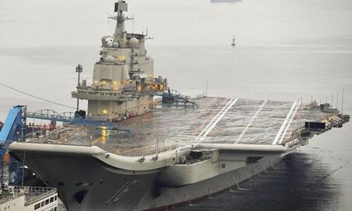 Liệu Trung Quốc có thể trở thành siêu cường tàu sân bay 1