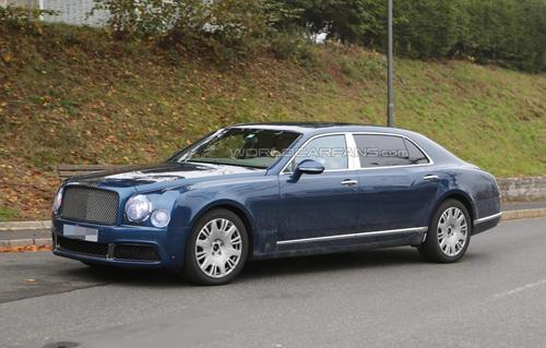 Bentley Mulsanne 2017 trục cơ sở dài lộ diện 1