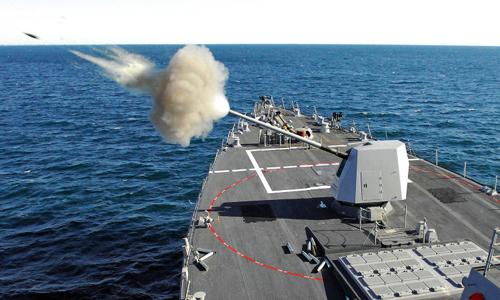 Đạn Excalibur N5 – sát thủ nối dài của pháo hạm Mỹ 1