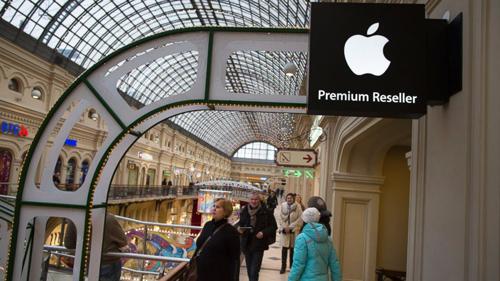 Người Nga chống đỡ suy thoái bằng iPhone, hàng hiệu 2