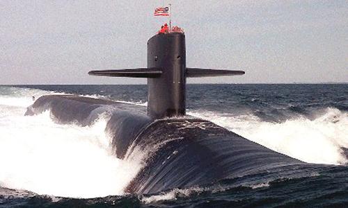 Mỹ chế tạo tàu ngầm răn đe hạt nhân thế hệ mới 1