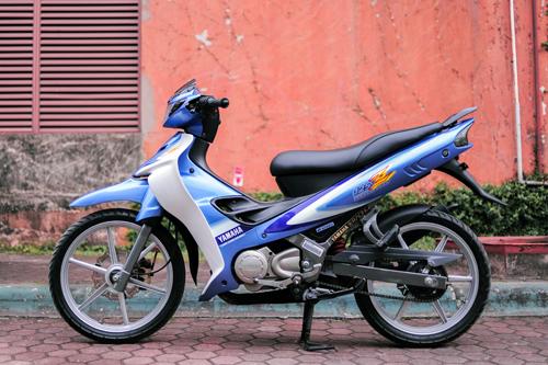 """""""Vua đường phố"""" Yamaha 125Z độ về """"zin"""" ở Hà Nội 1"""