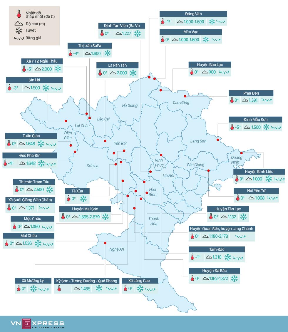 Hơn 20 địa điểm có băng tuyết ở Việt Nam 1