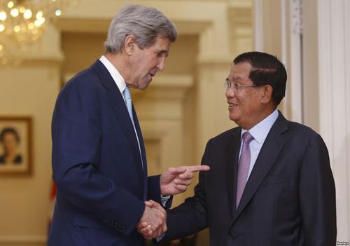 Cuộc đấu Mỹ - Trung giành ảnh hưởng ở Campuchia 1