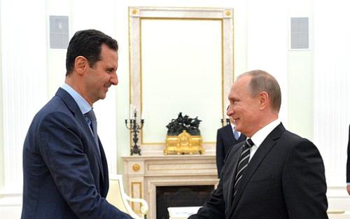 Vì sao Putin không muốn Assad ra đi 1