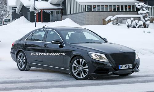 Mercedes S-class 2017 nâng cấp thiết kế 1