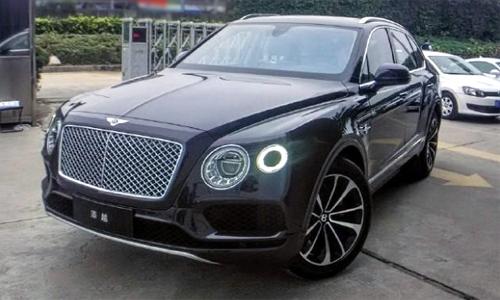Bentley Bentayga đến Trung Quốc giá từ 630.000 USD.