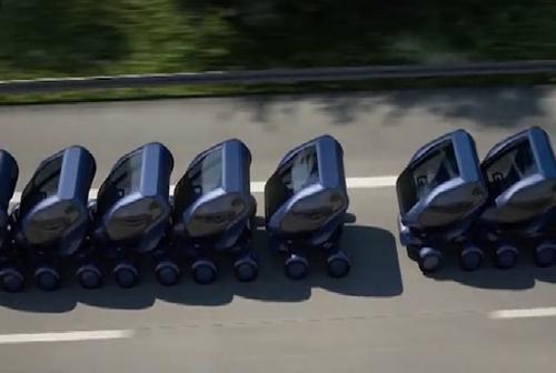 Ôtô thông minh tự động tránh tắc đường 1