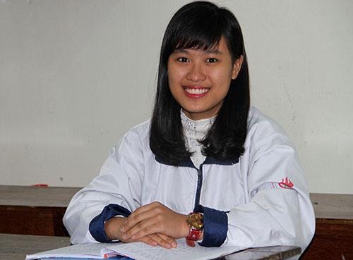 Nữ sinh giành giải nhất quốc gia môn Địa lý 1