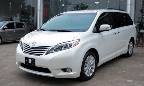 Toyota Sienna phiên bản 2016 có mặt tại Việt Nam. Ảnh: Lương Dũng.