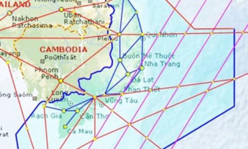 ICAO sửa bản đồ vùng thông báo bay Tam Á theo yêu cầu của Việt Nam