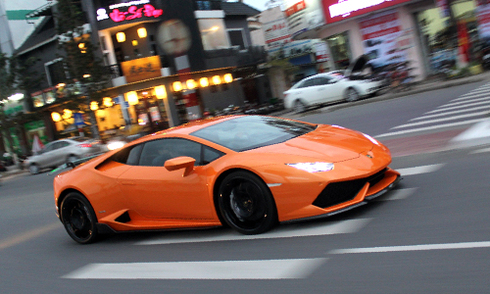 Lamborghini Huracan độc nhất Đà Nẵng