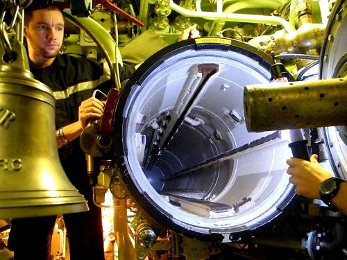 Saphir - tàu ngầm hạt nhân đủ sức xuyên thủng các lớp bảo vệ tàu sân bay Mỹ 2