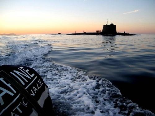 Saphir - tàu ngầm hạt nhân đủ sức xuyên thủng các lớp bảo vệ tàu sân bay Mỹ 1