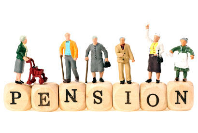 Pension /ˈpen.ʃən/: an amount of money paid regularly by the government or a private company to a person who does not work any more because they are too old or have become ill: lương hưu