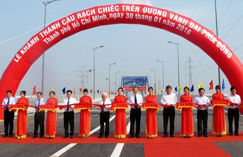 TP HCM khánh thành cầu Rạch Chiếc mới