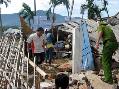 Động đất mạnh 3,7 độ richter ở Quảng Nam 1